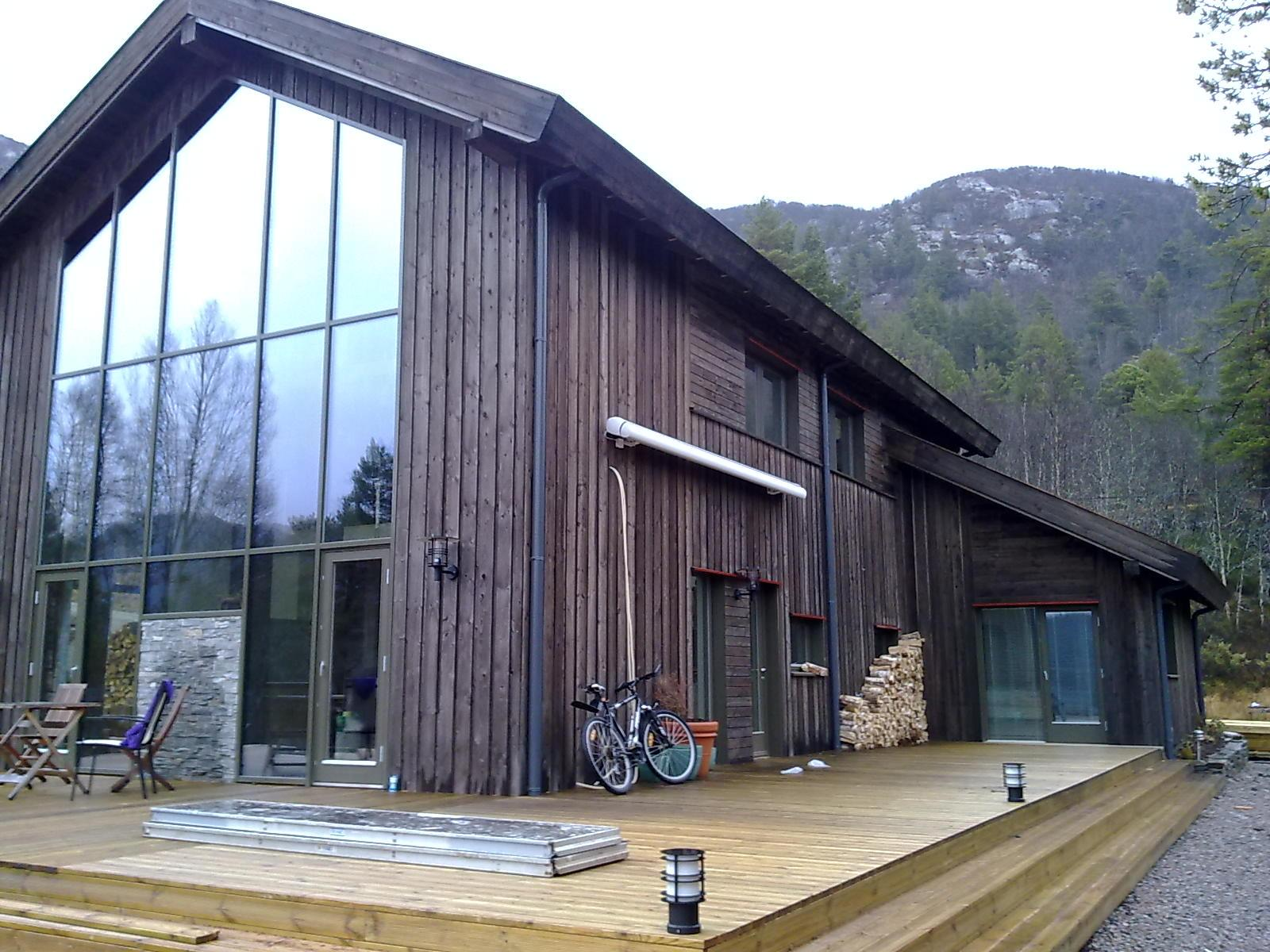 Living house hovden 3 hovden norway baltic wood houses for House and home