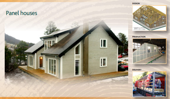 Enjoyable Panel House Technology Baltic Wood Houses Largest Home Design Picture Inspirations Pitcheantrous