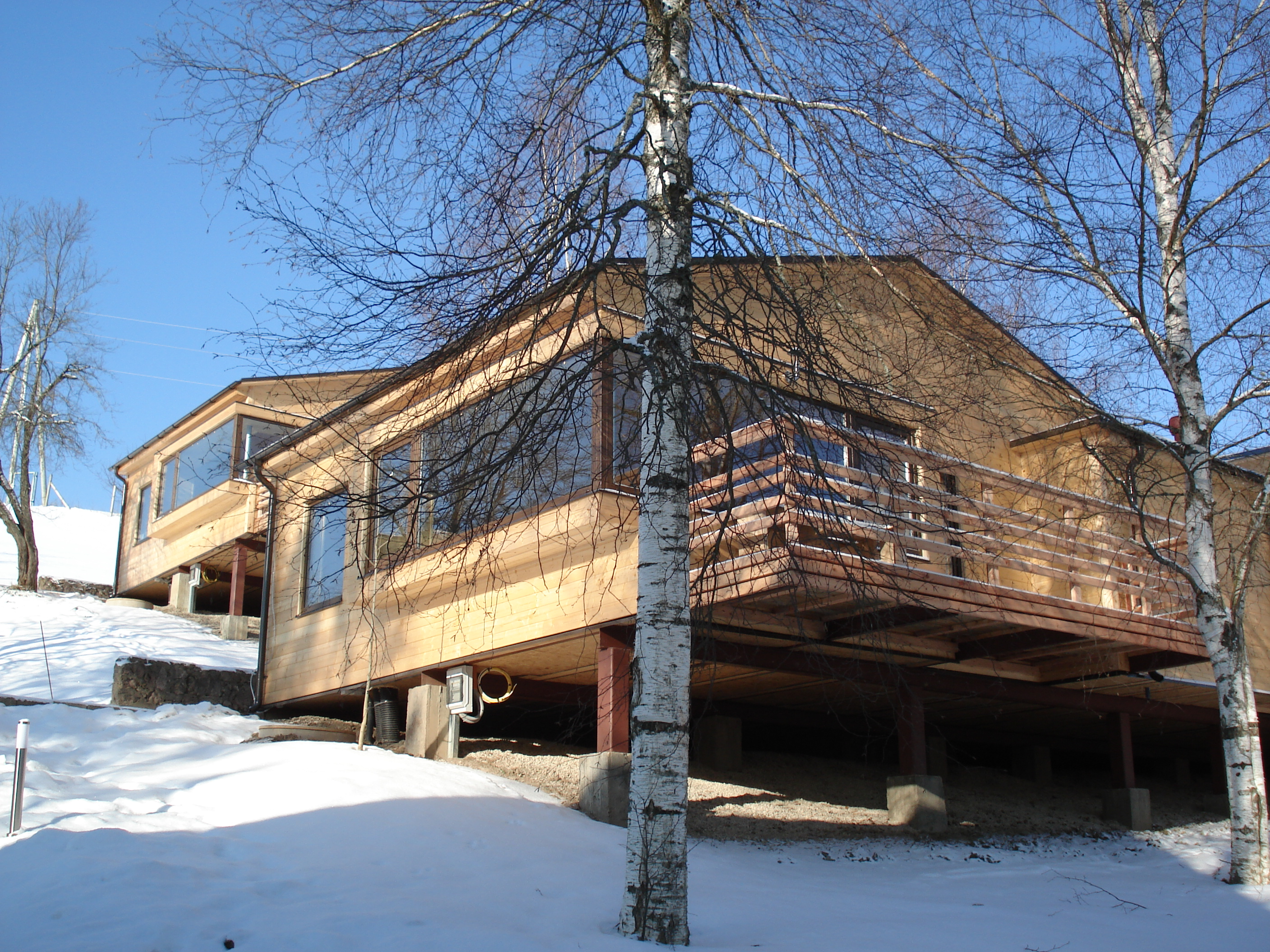 Recreation centre Plosti, Latvia - Baltic Wood Houses